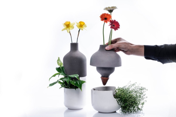 Taken up a level bothles multifunctional vases (2)