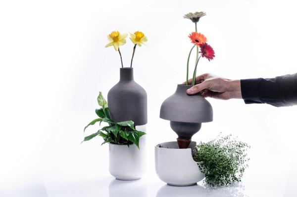 Taken up a level bothles multifunctional vases (3)
