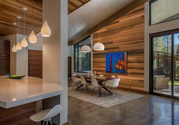 Contemporary Mountain Home Interiors