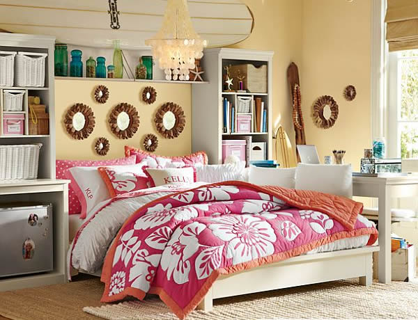 teenage girl s room designs adorable home. Black Bedroom Furniture Sets. Home Design Ideas