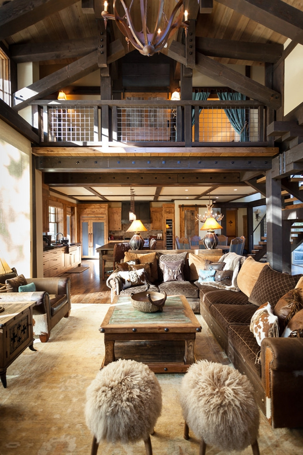 Texan style rustic mountain cabin adorable home Rustic home architecture