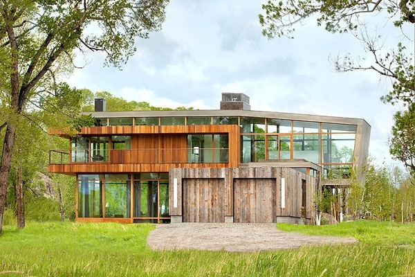 The big timber riverside ranch house  (2)
