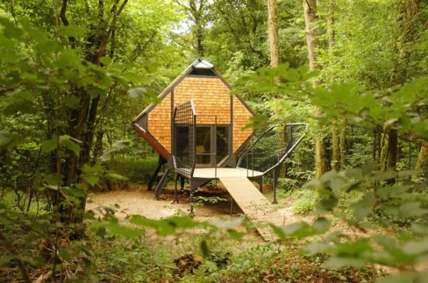 eco cabin Lorraine France (1)