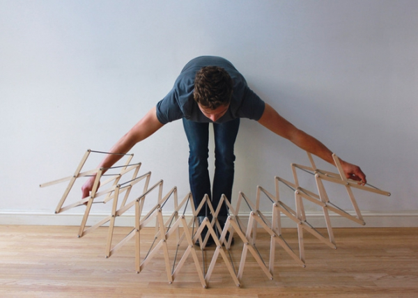 The Clothes Horse star shaped drying rack (3)