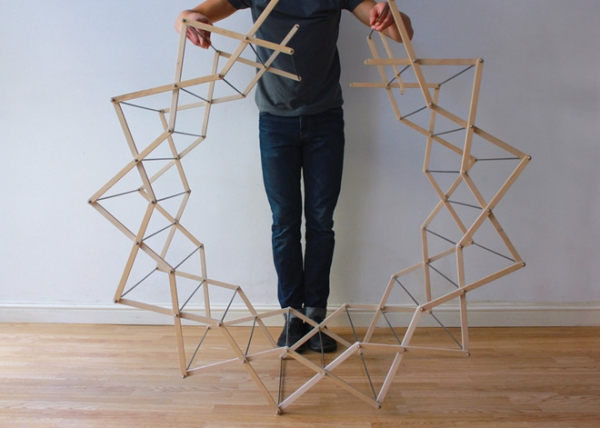 The Clothes Horse star shaped drying rack (4)