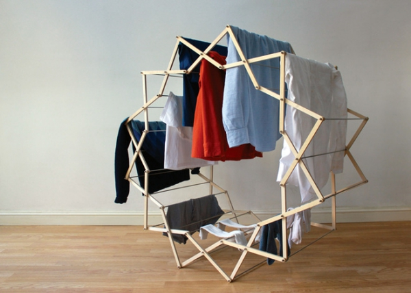 The Clothes Horse star shaped drying rack (6)