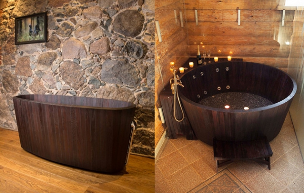 The Khis range of luxury wooden tubs (2)