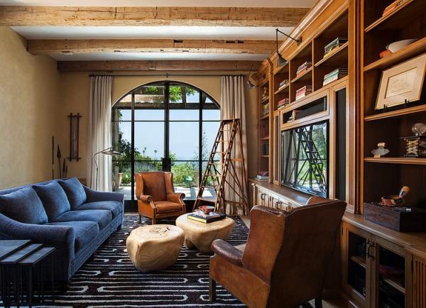 The Malibu house a Tuscan romance revived (14)