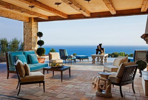 The Malibu house a Tuscan romance revived (17)