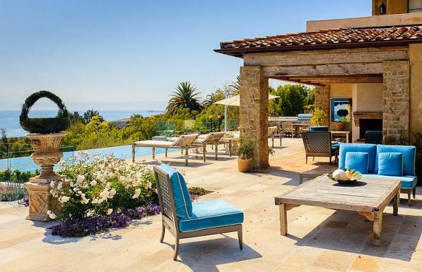 The Malibu house a Tuscan romance revived (19)