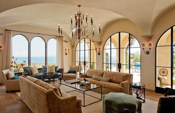 The Malibu house a Tuscan romance revived (4)