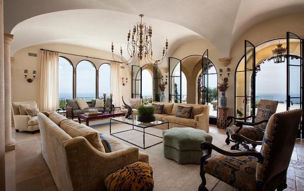 The Malibu house a Tuscan romance revived (6)