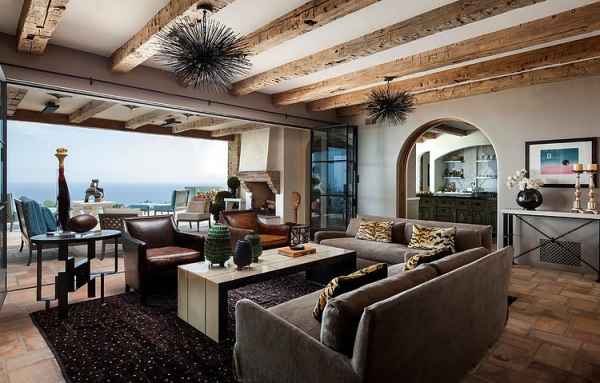 The Malibu house a Tuscan romance revived (8)