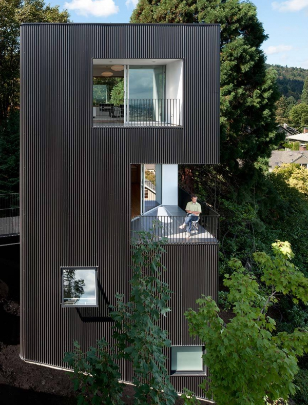 The Minimalist Tower House In Portland Adorable Home