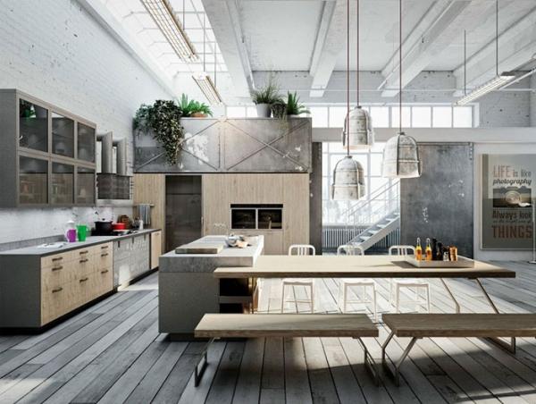 Loft Style Kitchens (2)