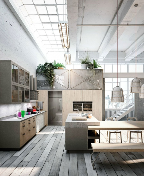 Green Flowers Interior additionally 20160925085651 design Cube Keuken ...
