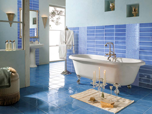 Bathroom Blue Tile Ideas Bathroom Tile Ideas 1