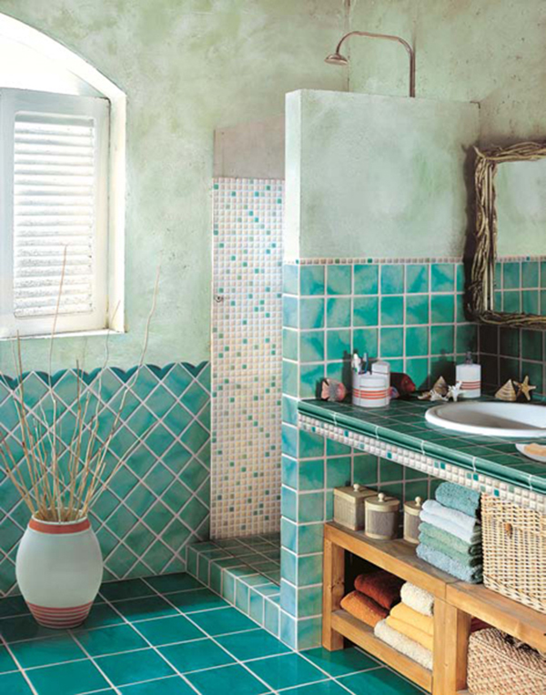 Bathroom Designs Teal