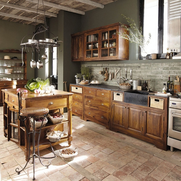 We Love This Double Island Kitchen Huge Open Kitchen: French Kitchens