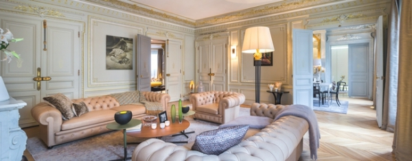 timeless parisian chic: luxury apartment design – adorable home, Innenarchitektur ideen