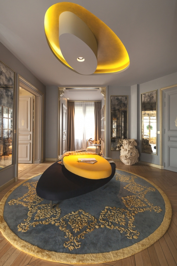 Timeless Parisian Chic Luxury Apartment Design Adorable