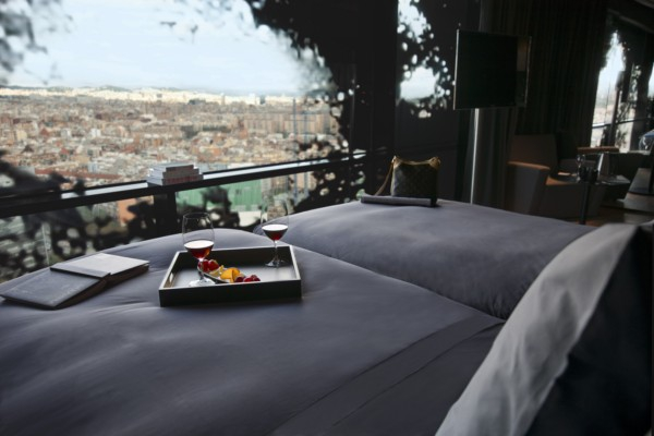 Tower hotel in Barcelona (9)