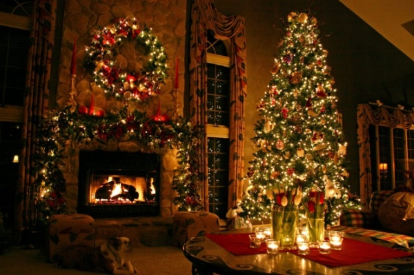 Traditional Christmas Decorating For The Home Ideas Christmas Decorating