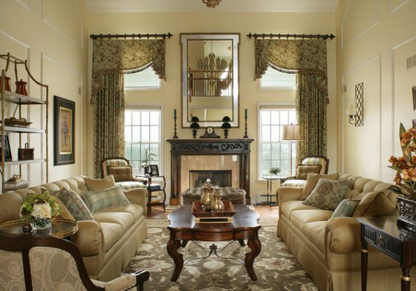 traditional living room designs 1 - Traditional Living Room Design Ideas