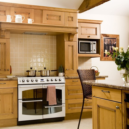 Traditional Wooden Kitchens Adorable Home