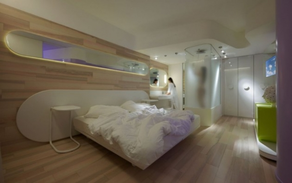 Traveling To A Different World A Futuristic Hotel