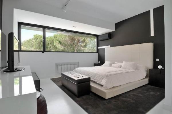 Ultra modern interior featuring futuristic architecture ...
