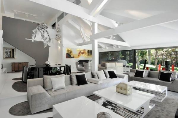 Futuristic home interior - House design plans