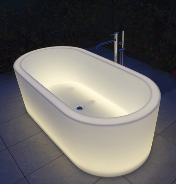 unique bathtubs unique illuminated bathtubs adorable home
