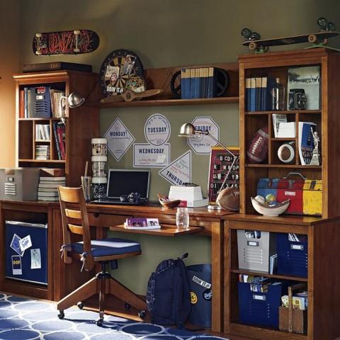 Unique Teenage Study Room Designs Adorable Home