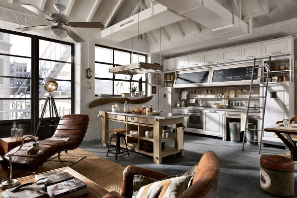 Charming ... Vintage And Industrial Style Kitchens By Marchi Group » Adorable Home Photo