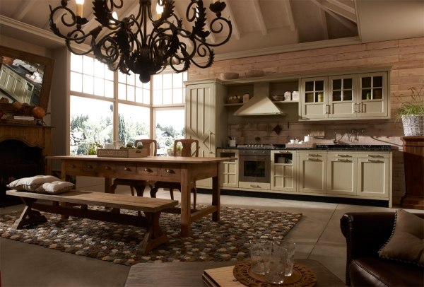 Vintage and industrial style kitchens by marchi group - Marchi cucine moderne ...