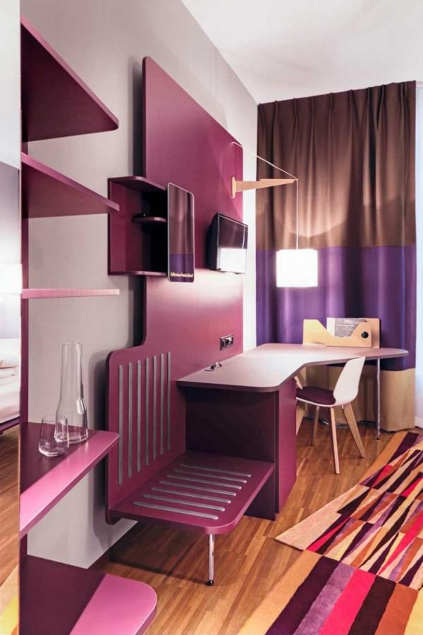 Vivid hotel design in Switzerland  (11)