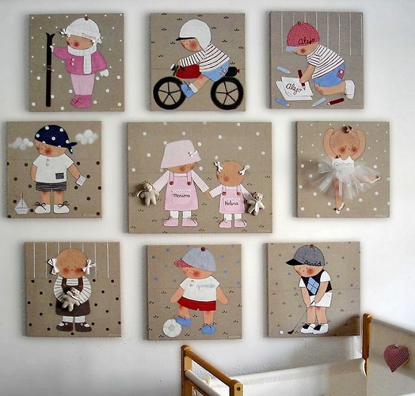 Wall decor for the kids Adorable Home
