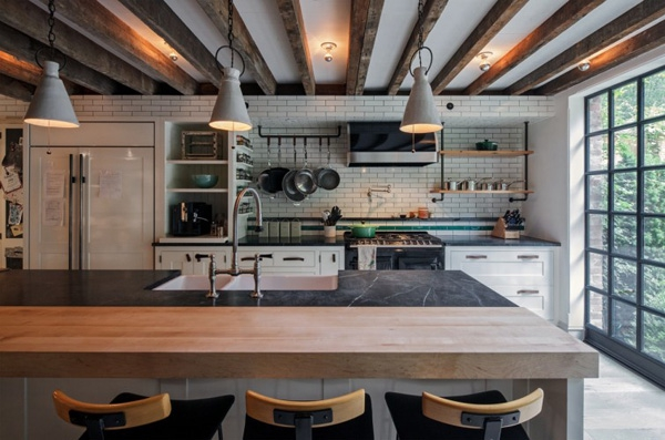 In Love With This Home S Industrial Eclectic Style