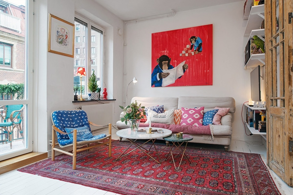 We Love The Eclectic Scandinavian Decor 1