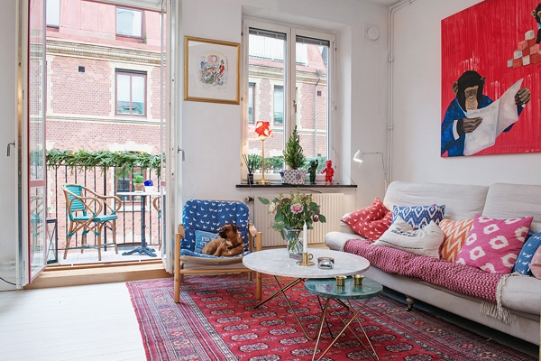 we love the eclectic scandinavian decor 3 - Eclectic Decor