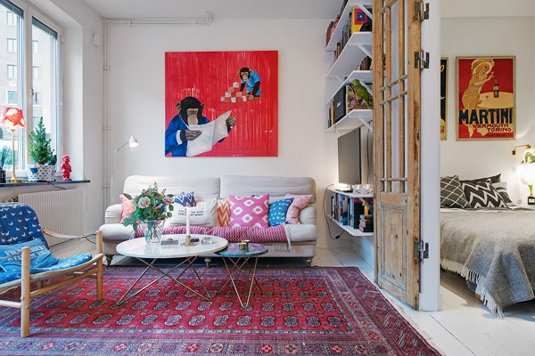 We love the eclectic Scandinavian decor (4)