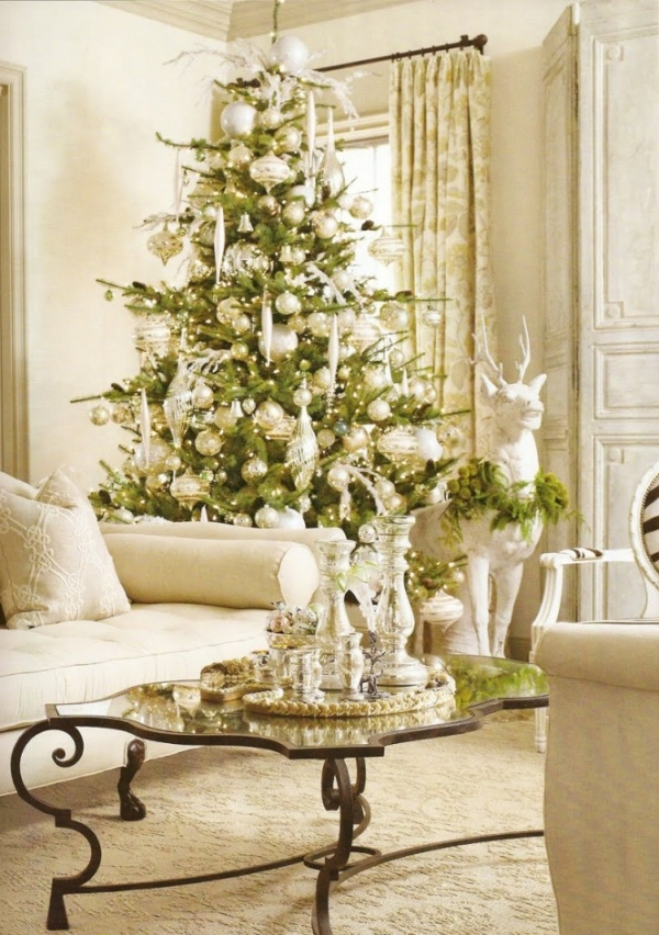 white christmas home decor 1