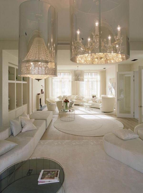 White Living Room Decor Ideas: White Interior Design: The Kensington House