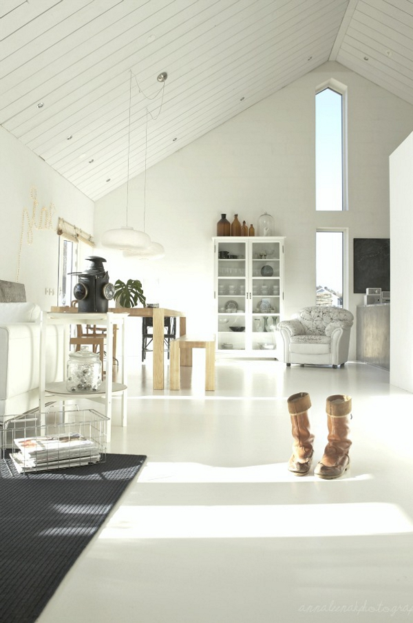 White Living Room Designs Adorable Home