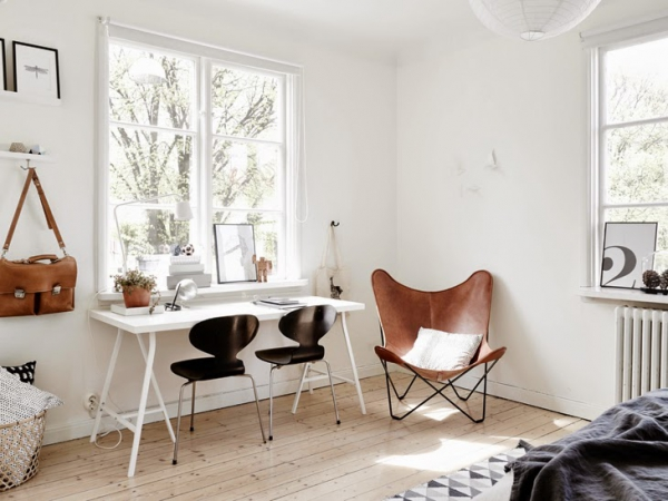 Wonderful apartment with a Scandinavian twist  (2)
