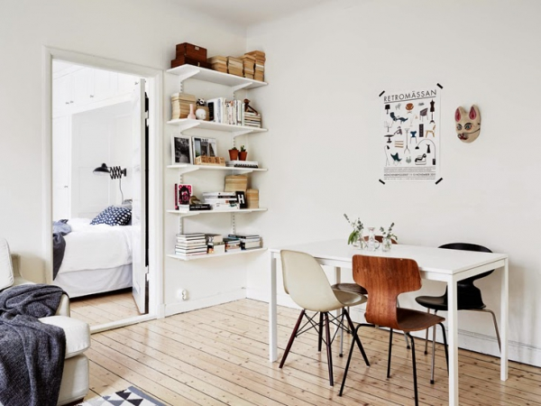 Wonderful apartment with a Scandinavian twist  (3)