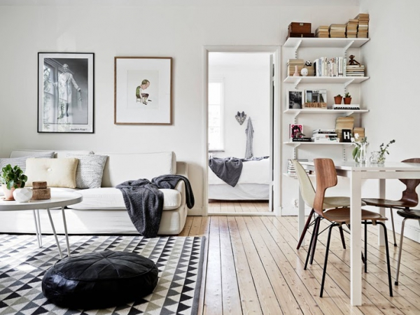 Wonderful apartment with a Scandinavian twist (4)