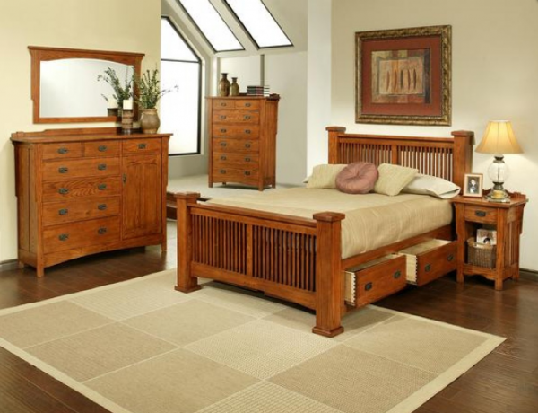 We've gathered a beautiful collection of wooden bedroom sets from ...