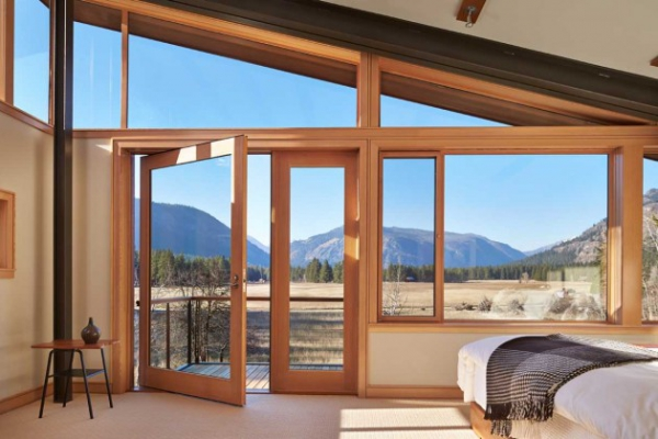 Wooden residence in all its abstract glory  (10)